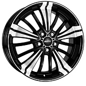 Alutec Ecstasy 7.5x17 5x108 ET47 d70.1 Diamond Black Front Polished
