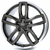 ATS Temperament 9.0x19 5x130 ET60 d71.6 Blizzard Grey Lip Polished