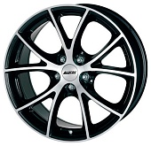 Alutec Cult 8.5x18 5x108 ET40 d70.1 Diamond Black Front Polished