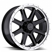 Black Rhino Moab 9.0x17 8x165 ET12 d120 Gloss Black