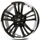 ATS Prazision 9.0x20 5x112 ET30 d70.1 Racing Black Double Lip Polished
