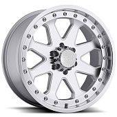 Black Rhino Imperial 9.0x17 6x139.7 ET-12 d112 Silver Machine Cut Lip