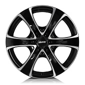 Alutec Dynamite6 8.5x18 6x139.7 ET40 d67.1 Diamond Black Front Polished
