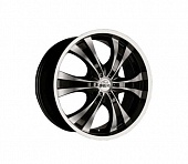 Antera 385 9.5x20 6x139.7 ET30 d78.1 Diamond Black Front and Lip Polished