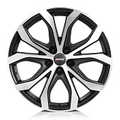 Alutec W10X 9.0x20 5x112 ET29 d66.5 Racing Black Front Polished