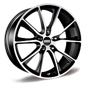 BBS SV011 9.0x20 5x120 ET45 d70 Satin Black Diamond Cut