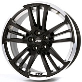 ATS Prazision 9.0x20 5x120 ET30 d72.6 Racing Black Double Lip Polished