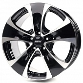 Alutec Dynamite 8.5x18 5x139.7 ET45 d95.3 Diamond Black Front Polished